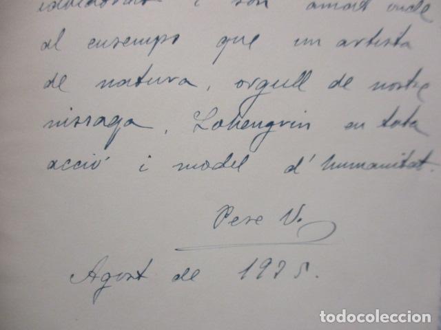 Libros antiguos: EL TENOR, POR FRANCESC VIÑAS. - Lleva una dedicatoria y firmada por Pere V. / ejemplar nº 54. - Foto 7 - 200088528
