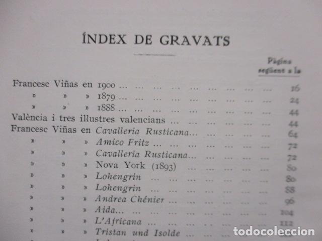 Libros antiguos: EL TENOR, POR FRANCESC VIÑAS. - Lleva una dedicatoria y firmada por Pere V. / ejemplar nº 54. - Foto 22 - 200088528