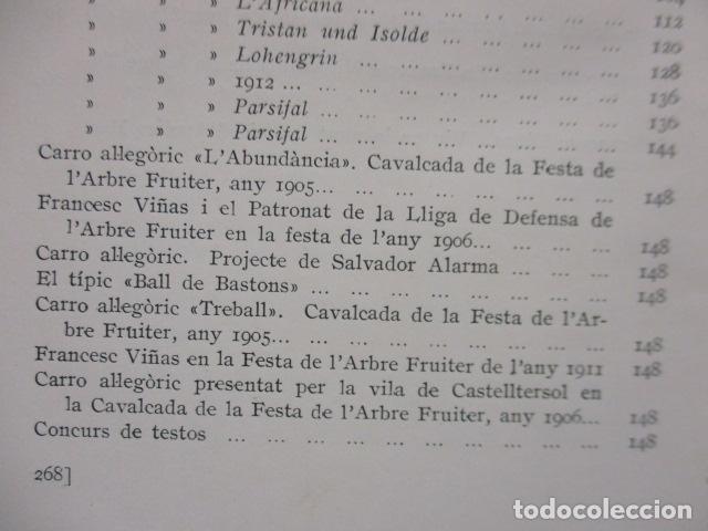Libros antiguos: EL TENOR, POR FRANCESC VIÑAS. - Lleva una dedicatoria y firmada por Pere V. / ejemplar nº 54. - Foto 23 - 200088528