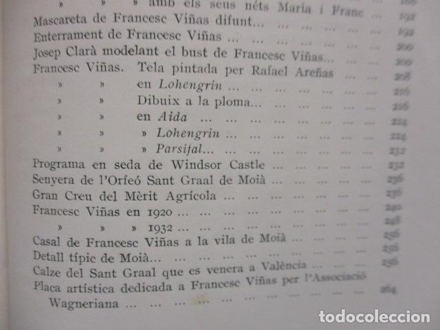 Libros antiguos: EL TENOR, POR FRANCESC VIÑAS. - Lleva una dedicatoria y firmada por Pere V. / ejemplar nº 54. - Foto 25 - 200088528