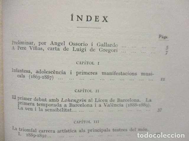 Libros antiguos: EL TENOR, POR FRANCESC VIÑAS. - Lleva una dedicatoria y firmada por Pere V. / ejemplar nº 54. - Foto 27 - 200088528