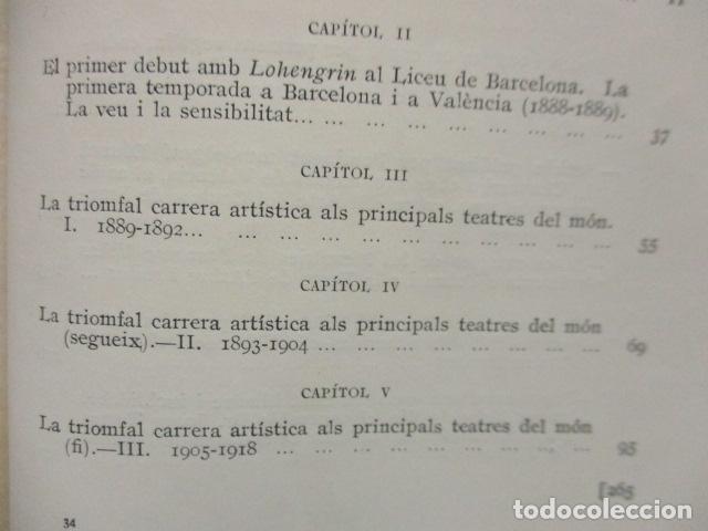 Libros antiguos: EL TENOR, POR FRANCESC VIÑAS. - Lleva una dedicatoria y firmada por Pere V. / ejemplar nº 54. - Foto 28 - 200088528