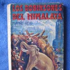 Libri antichi: LOS ROBINSONES DEL HIMALAYA. MAYNE-REID. IBERIA. LA NOVELA DE AVENTURAS, Nº 29. Lote 200127552