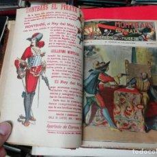 Libri antichi: MONTBARS EL PIRATA . EL PABELLÓN DE LA MUERTE . TOMO II . NÚMEROS 31 AL 59 . AÑOS 30 . UNA JOYA!!!. Lote 200151482