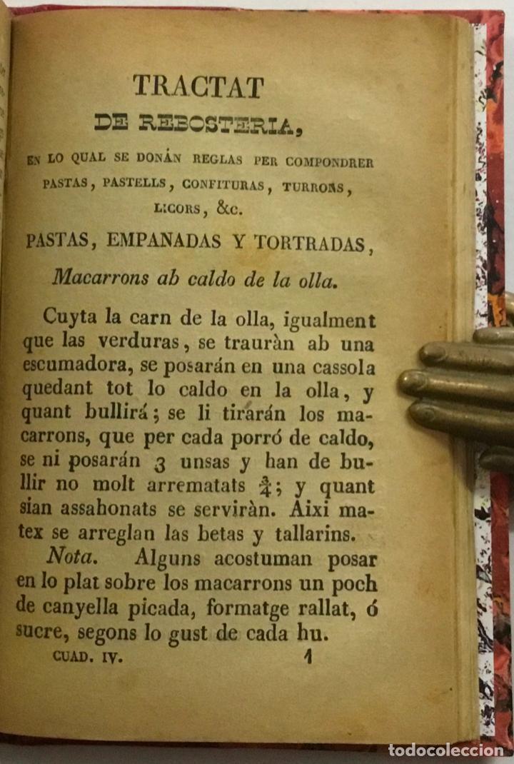 Libros antiguos: CUYNERA (LA ) CATALANA ó sia reglas útils, facils, seguras y económicas per cuynar bé. 1880-1884 - Foto 4 - 123142315