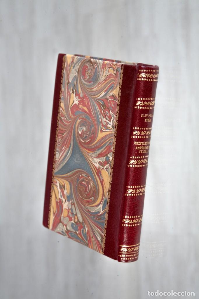 Libros antiguos: EDIFICACIONES ANTIGUAS DE SEVILLA - JUAN DE LA VEGA Y SANDOVAL - SEVILLA 1928 - Foto 2 - 125062267