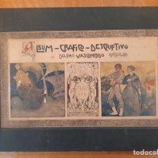 Libros antiguos: GUIPÚZCOA: ÁLBUM GRÁFICO DESCRIPTIVO, 1915. 47X33 GIPUZKOA PAÍS VASCO SAN SEBASTIÁN DONOSTIA EUSKADI. Lote 200309512
