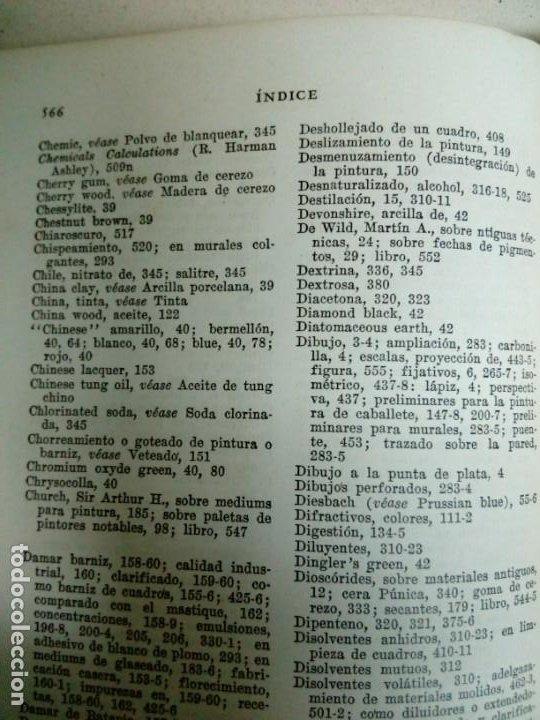 Libros antiguos: Manual del Artista.Ralph Mayer.588 pg - Foto 2 - 200396306