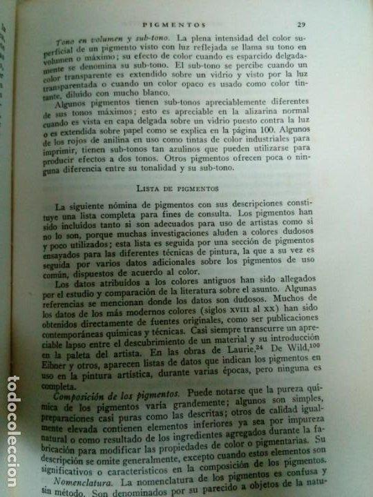 Libros antiguos: Manual del Artista.Ralph Mayer.588 pg - Foto 14 - 200396306