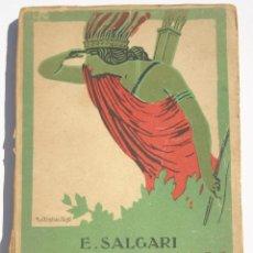 Libros antiguos: LA REINA DE LOS CARIBES TOMO I - EMILIO SALGARI. Lote 200552726