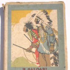 Libros antiguos: EL REY DE LOS CANGREJOS - EMILIO SALGARI. Lote 200552727