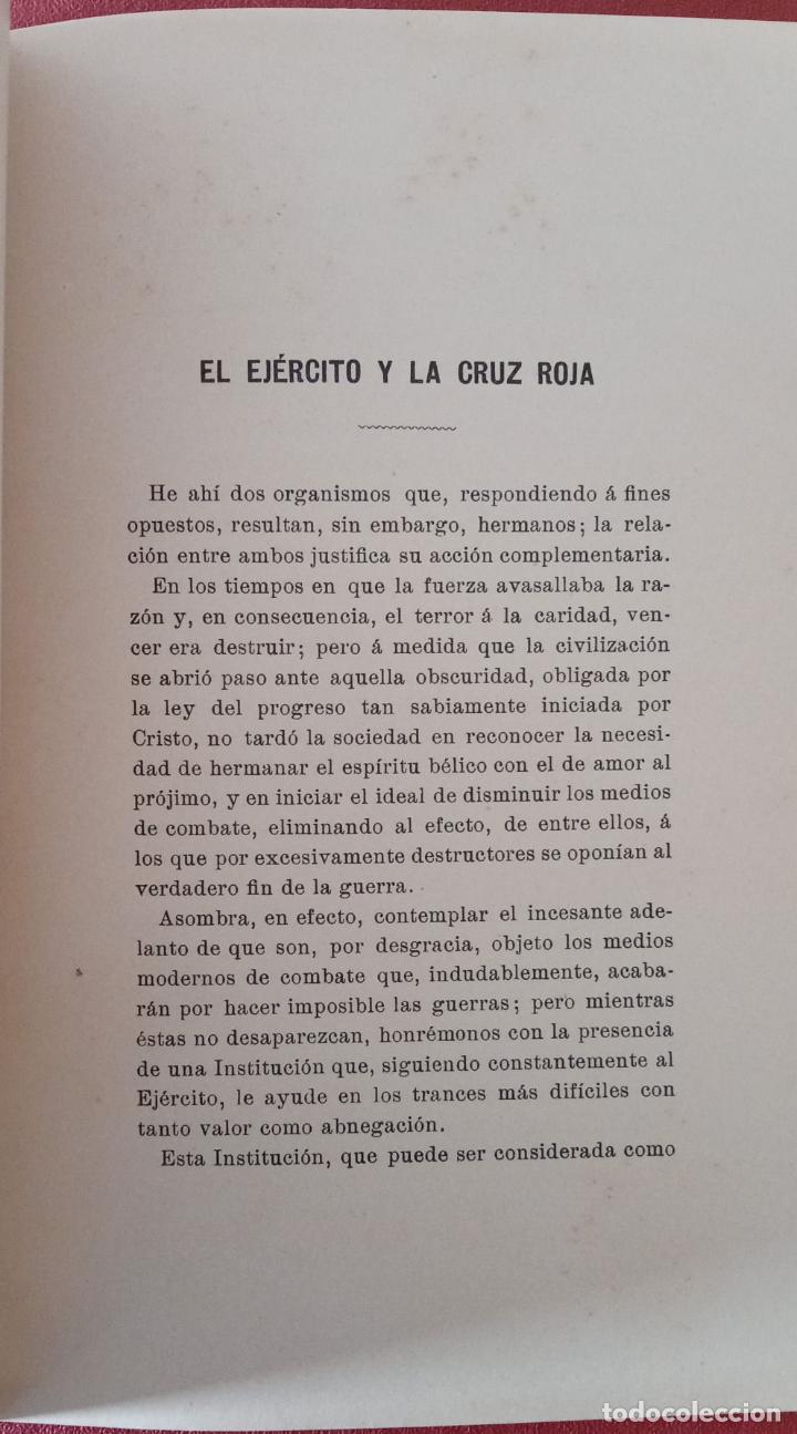 Libros antiguos: RARO LIBRILLO. ABSENTEÍSMO-AGRÍCOLA, EL EJÉRCITO Y LA CRUZ ROJA. E MIRACLE 1911. W - Foto 3 - 200615665
