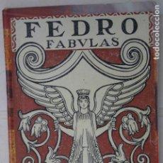 Libros antiguos: FABULAS - FEDRO. Lote 200634785