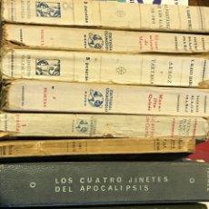 Libros antiguos: LOTE DE OBRAS DE VICENTE BLASCO IBÁÑEZ. Lote 200894652