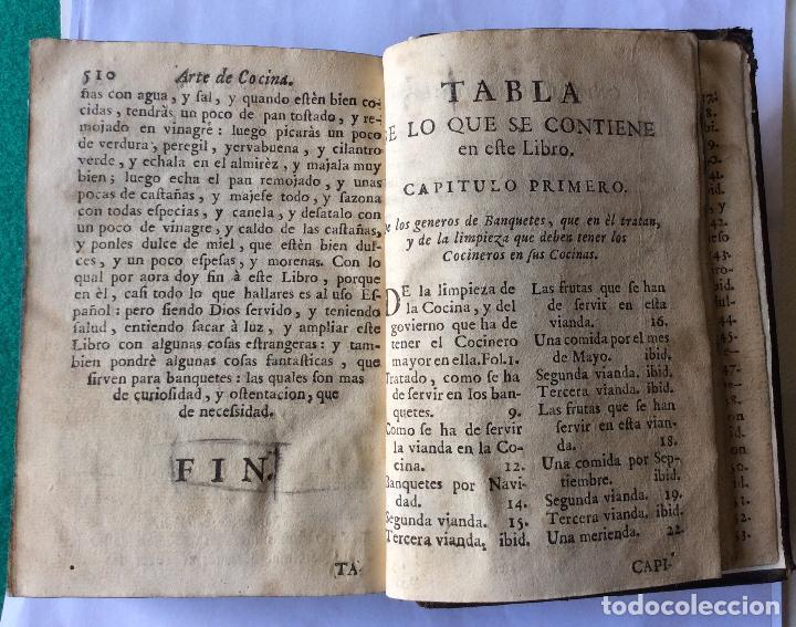 Libros antiguos: ARTE DE COCINA, PASTELERIA, VIZCOCHERIA Y CONSERVERIA- MARTINEZ MONTIÑO, Fco. 1763 - Foto 5 - 201193322