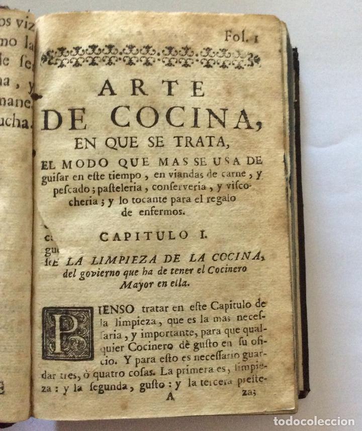 Libros antiguos: ARTE DE COCINA, PASTELERIA, VIZCOCHERIA Y CONSERVERIA- MARTINEZ MONTIÑO, Fco. 1763 - Foto 8 - 201193322