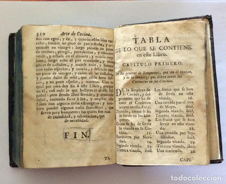 Libros antiguos: ARTE DE COCINA, PASTELERIA, VIZCOCHERIA Y CONSERVERIA- MARTINEZ MONTIÑO, Fco. 1763 - Foto 9 - 201193322