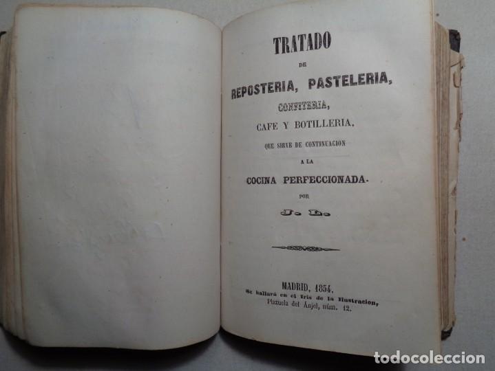 Libros antiguos: LA COCINA PERFECCIONADA O SEA EL COCINERO INSTRUIDO.MADRID 1854...013 - Foto 7 - 28000068