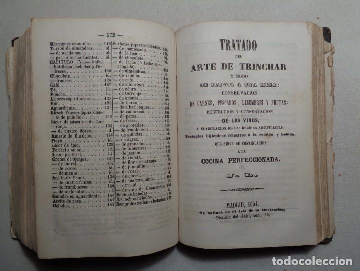 Libros antiguos: LA COCINA PERFECCIONADA O SEA EL COCINERO INSTRUIDO.MADRID 1854...013 - Foto 8 - 28000068