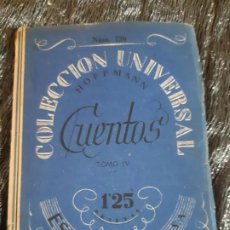 Libros antiguos: COLECCION UNIVERSAL HOFFMANN, CUENTOS, ESPASA CALPE. Lote 201327766