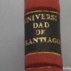 Livres anciens: (0) - LA UNIVERSIDAD DE SANTIAGO DE COMPOSTELA (EL PASADO Y EL PRESENTE) 1934. Lote 201549678