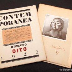 Libros antiguos: REVISTA CONTEMPORANEA - 1923 - VANGUARDIAS - PESSOA - NUMEROS 8 Y 9. Lote 201648800
