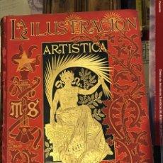 Libros antiguos: LA ILUSTRACIÓN ARTÍSTICA AÑO 1892. Lote 201825130
