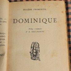 Libros antiguos: DOMINIQUE EUGENESIA PROMENTIN, EDICIONS PROA 1929. Lote 201838938
