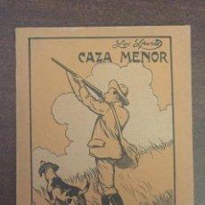 Livros antigos: CAZA MENOR, DE ÁNGEL ARAMBURU - LIBRERÍA SINTES, BARCELONA, 1916, 114 PÁGINAS. Lote 201922510