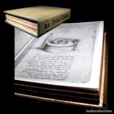 Libros antiguos: AÑO 1493 FACSÍMIL LEONARDO DA VINCI CODEX MADRID MANUSCRITO CÓDICE TRATADO DE ESTÁTICA Y MECÁNICA. Lote 103337675