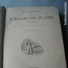 Libros antiguos: OBRAS COMPLETAS DE MARIANO JOSÉ DE LARRA. 1886. Lote 202013065