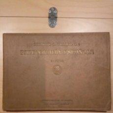 Libros antiguos: PALEOGRAFÍA ESPAÑOLA. ZACARÍAS GARCÍA VILLADA. ÁLBUM II. AÑO 1923. Lote 202023422