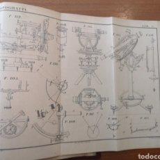 Libros antiguos: CURSO ELEMENTAL DE TOPOGRAFÍA ISIDRO GIOL Y SOLDEVILLA. Lote 202074300