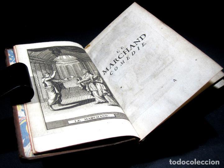 Libros antiguos: Año 1719 El mercader El impostor Antigua Roma Comedias de Plauto Grabados Plaute Plautus T7 - Foto 2 - 103890311