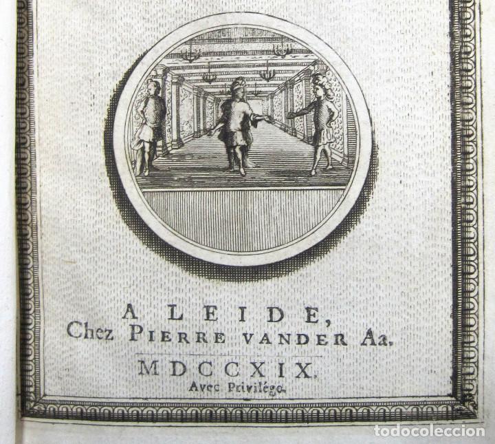 Libros antiguos: Año 1719 El mercader El impostor Antigua Roma Comedias de Plauto Grabados Plaute Plautus T7 - Foto 3 - 103890311