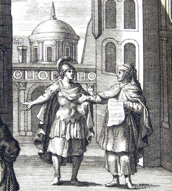 Libros antiguos: Año 1719 El mercader El impostor Antigua Roma Comedias de Plauto Grabados Plaute Plautus T7 - Foto 4 - 103890311