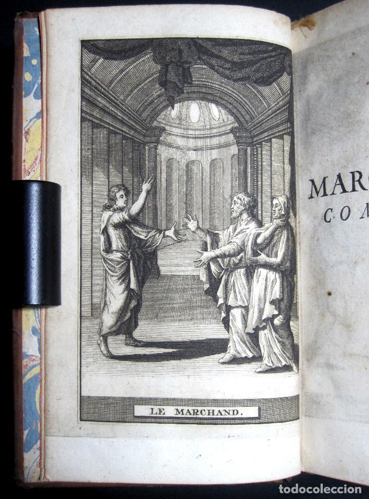 Libros antiguos: Año 1719 El mercader El impostor Antigua Roma Comedias de Plauto Grabados Plaute Plautus T7 - Foto 10 - 103890311