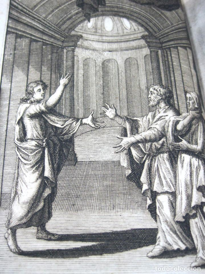 Libros antiguos: Año 1719 El mercader El impostor Antigua Roma Comedias de Plauto Grabados Plaute Plautus T7 - Foto 11 - 103890311