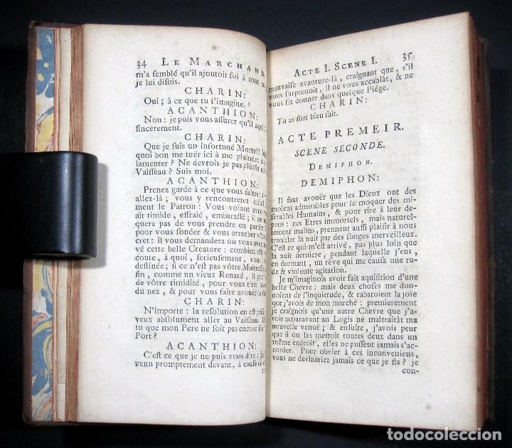 Libros antiguos: Año 1719 El mercader El impostor Antigua Roma Comedias de Plauto Grabados Plaute Plautus T7 - Foto 12 - 103890311