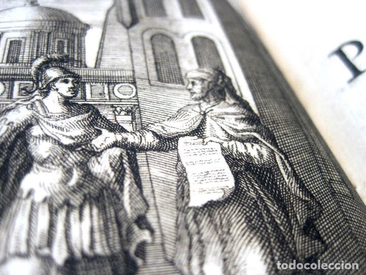 Libros antiguos: Año 1719 El mercader El impostor Antigua Roma Comedias de Plauto Grabados Plaute Plautus T7 - Foto 15 - 103890311