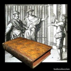 Libros antiguos: AÑO 1719 EPIDICUS LA COMEDIA DE LA CESTITA ANTIGUA ROMA COMEDIAS DE PLAUTO GRABADOS PLAUTUS T4. Lote 103832663