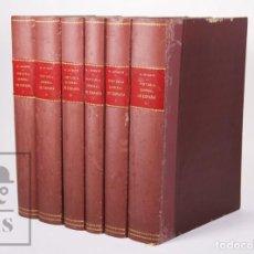 Libros antiguos: ANTIGUA COLECCIÓN HISTORIA GENERAL DE ESPAÑA. M. LAFUENTE, 6 TOMOS - ED. MONTANER Y SIMÓN, 1883. Lote 202547405
