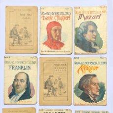 Libros antiguos: SOPENA - VIDAS DE HOMBRES CÉLEBRES - SERIE II - BARCELONA. Lote 202640650