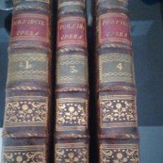 Livros antigos: LOTE DE LIBROS SIGLO XVIII. Lote 202674397