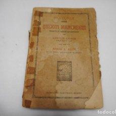 Libros antiguos: HISTORIA DOMINI QUIJOTI MANCHEGUI (LATÍN CON PRÓLOGO EN CASTELLANO) Q576W. Lote 202747321