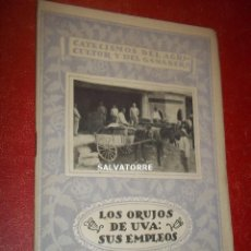 Libri antichi: CATECISMOS DEL AGRICULTOR Y GANADERO.LOS ORUJOS DE UVA.SUS EMPLEOS.29.SELLO REPUBLICA.ESPASA CALPE. Lote 202992021