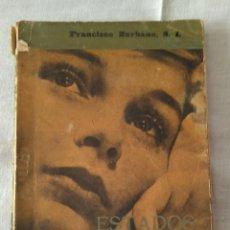 Libros antiguos: ESTADOS DE LA MUJER.FRANCISCO ZURBANO SJ. PPC 1961. Lote 184232446