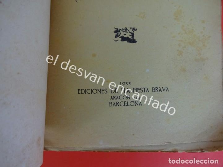 Libros antiguos: Don Quijote. CINCO LUSTROS DE TOREO. Crítica y Crónicas. Año 1933 - Foto 3 - 203164937