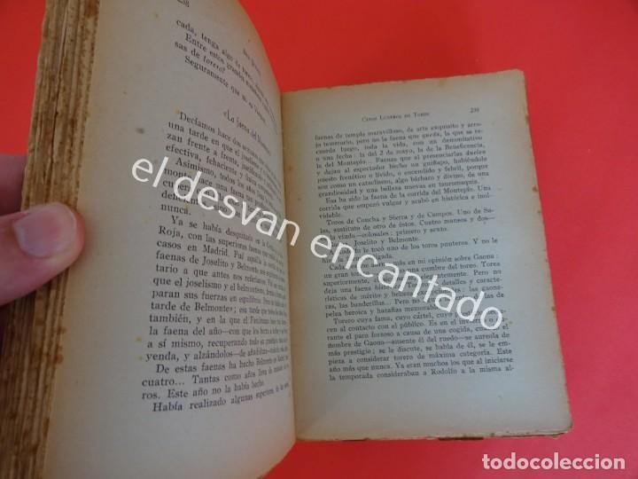 Libros antiguos: Don Quijote. CINCO LUSTROS DE TOREO. Crítica y Crónicas. Año 1933 - Foto 4 - 203164937