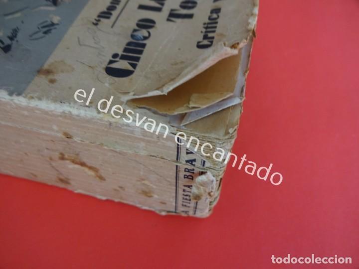 Libros antiguos: Don Quijote. CINCO LUSTROS DE TOREO. Crítica y Crónicas. Año 1933 - Foto 11 - 203164937
